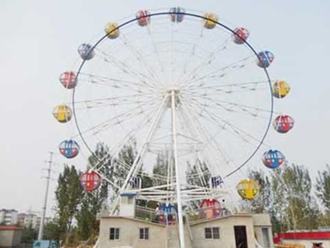 Beston export 30 meters ferris wheel to Australia