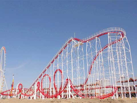Large Roller Coaster for Australia With 24 Passengers