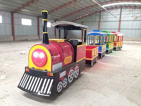 Smile Trackless Train for Australia from Beston Rides