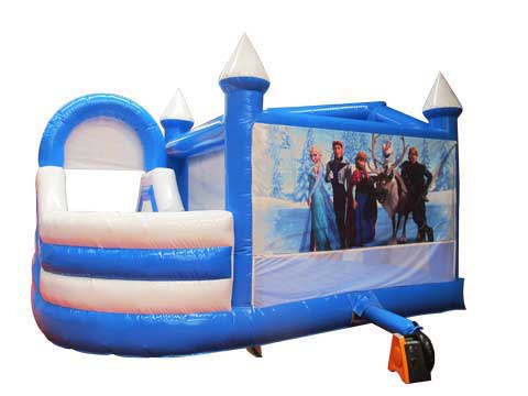 Frozen Bounce House With Slide for Australia from Beston Amusement