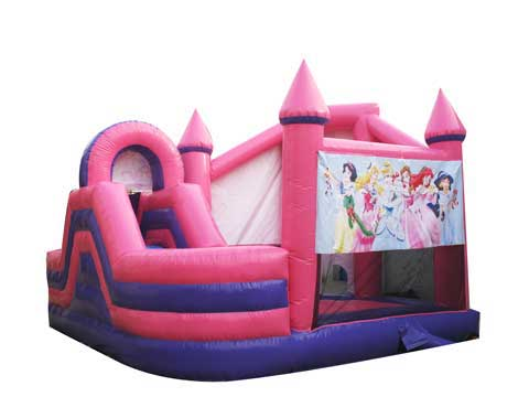 Pink Inflatable Bounce House for Australia from Beston Amusement