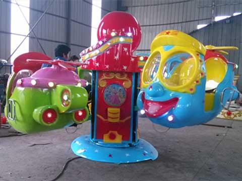 Big Eye Plane Kiddie Rides for Russia from Beston Amusement Equipment