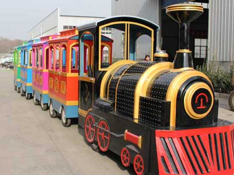 17 Person Electric Trackless Train for Sale