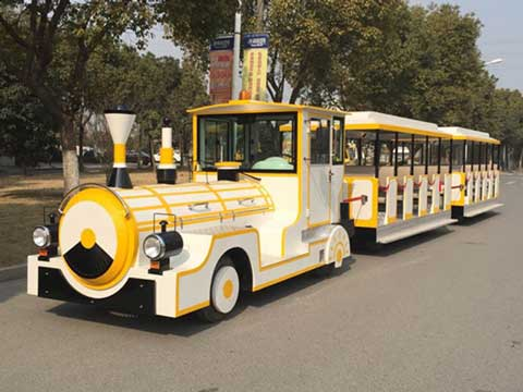 BNBT-41A Large Capacity Trackless Train for Australia