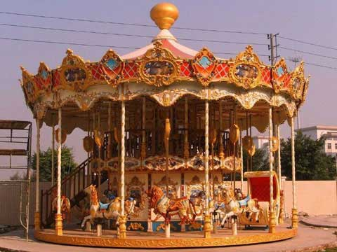 Two Layer Carousel for Sale for Australia Park