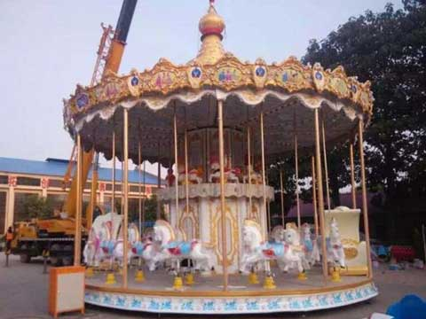 Double Decker Carousel With 36 Horses for Australia
