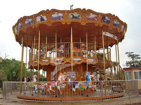 Double Layer Carousel With 48 Seats for Sale for Australia