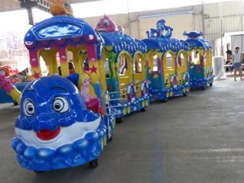 Ocean Theme Trackless Train for Australia Amusement Parks