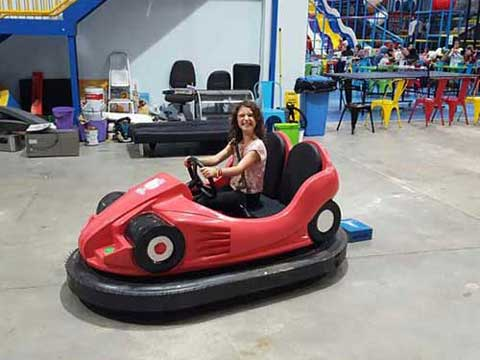 Battery bumper cars to Australia