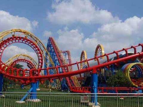 Large Roller Coaster for Sale for Australia