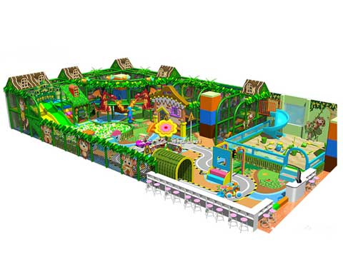 Large Indoor Playground Equipment