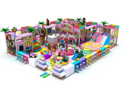 Candy Theme Indoor Playground Equipment