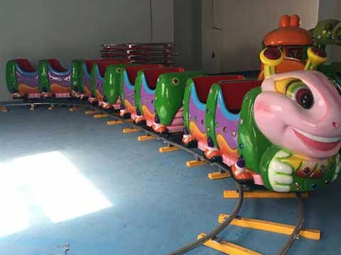Kiddie Electric Track Train Rides