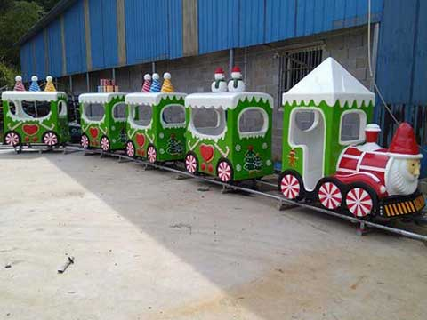 Kiddie Christmas Train Rides