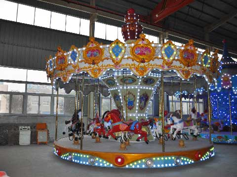 16 Seat Carousel Rides For Sale Cheap
