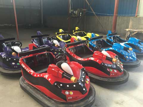 Large New Bumper Car Rides