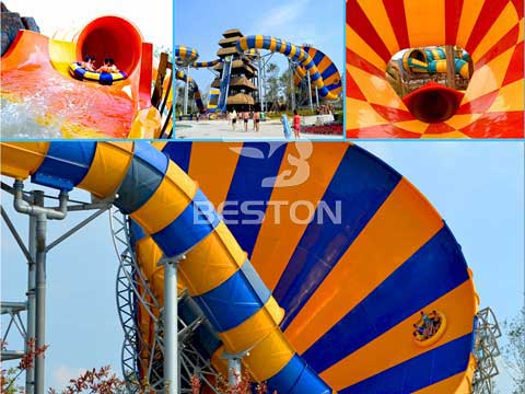 BL-01 Large Tornado Water Slide for Australia