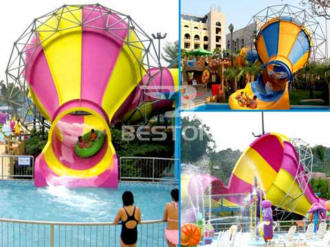 Details of Medium Tornado Water Slide for Australia