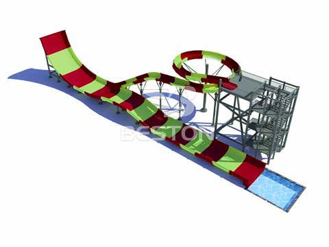 Turn Back Towering Water Slide for Australia
