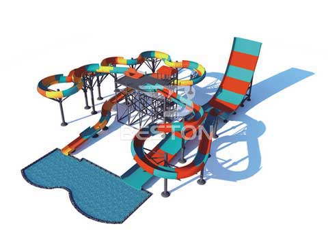 Family Drift and Cyclotron Water Slide for Sale In Australia