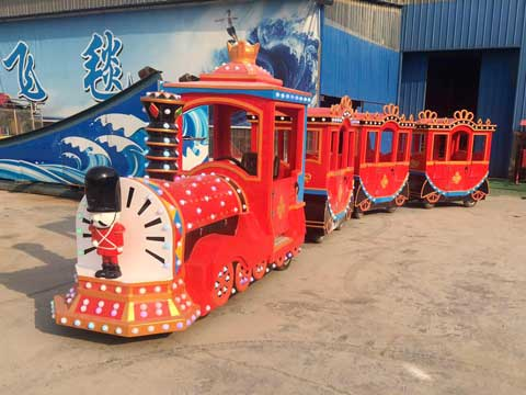Jazz Soldier Trackless Train for Australia