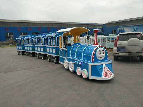 Thomas Trackless Train for Australia