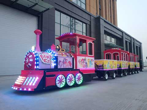 Pony Bao Li Trackless Train for Australia