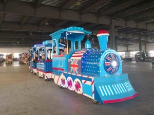 London Trackless Train for Australia Market