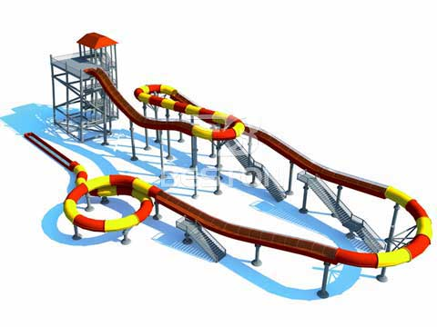 Fiberglass Water Slides for Sale In Australia