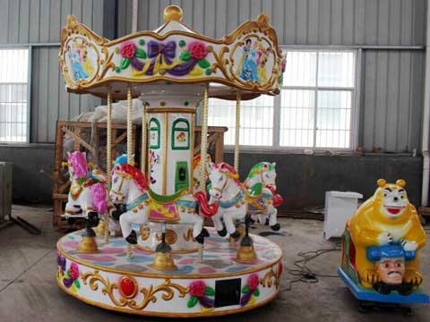 Kids Carousel With 6 Seat