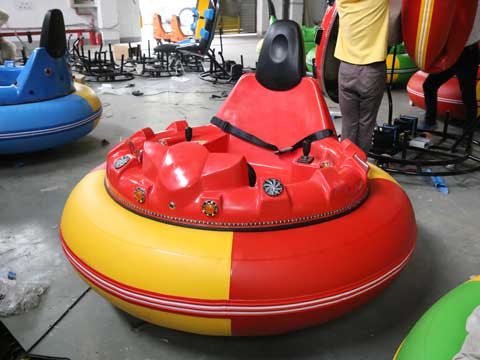 Red Inflatable Bumper Cars for Australia