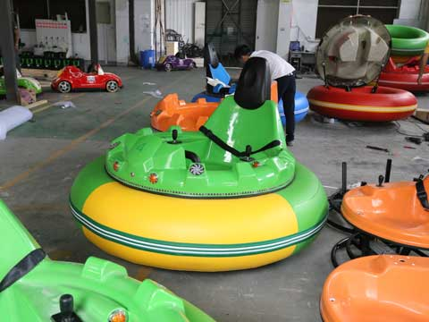 Green Inflatable Bumper Cars for Australia