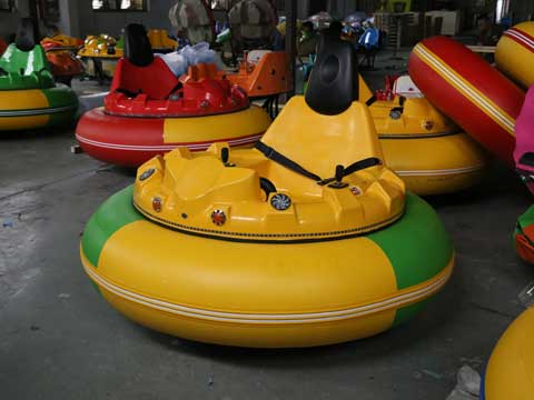 Yellow Inflatable Bumper Cars for Australia