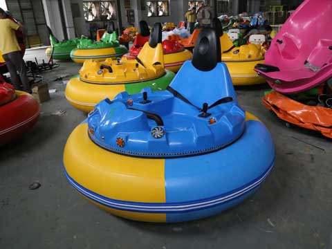 Blue Inflatable Bumper Cars for Australia