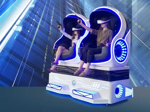 Two Seat 9D VR Rides