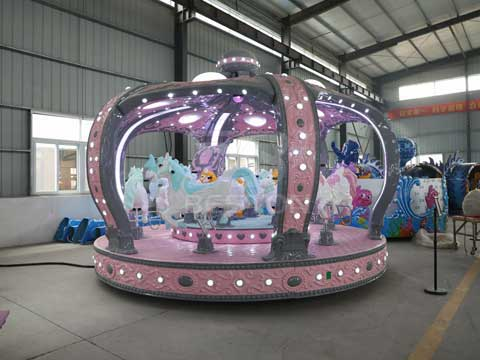 Kids Merry Go Round Carousel