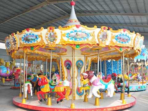New Merry Go Round Carousel