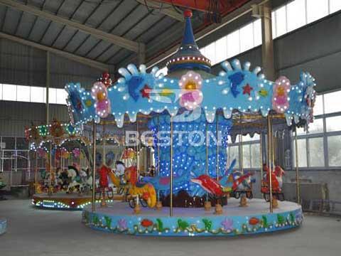 Ocean Merry Go Round Carousel