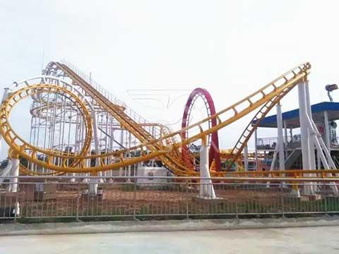 3 Ring Roller Coaster Rides