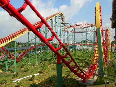 Three Ring Roller Coaster for Australia