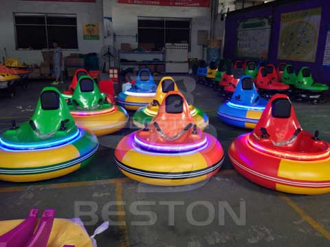 Inflatable Bumper Cars Show Rides
