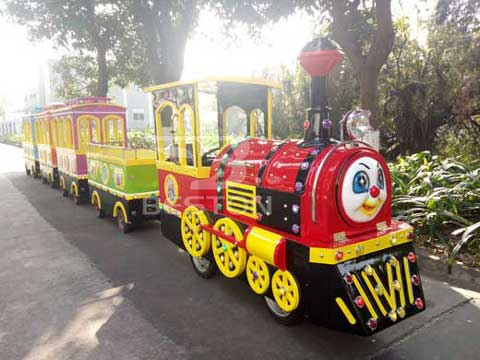 Kids Train Rides Without Track