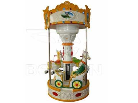 New 3 Horse Mini Carousel