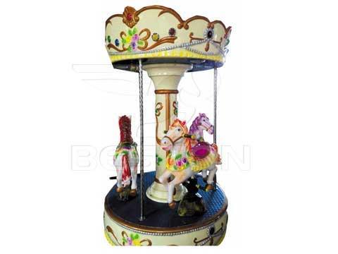 Kids Mini Carousel With 3 Seat