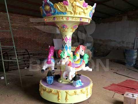 3 Horse Mini Carousel for Australia