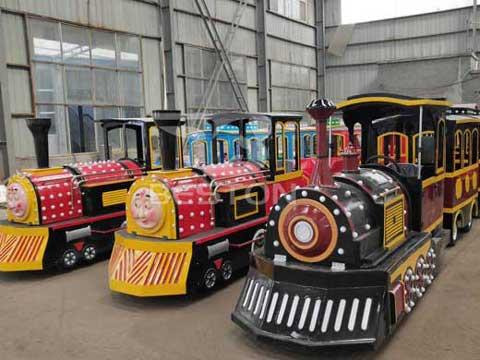 Amusement Trackless Train