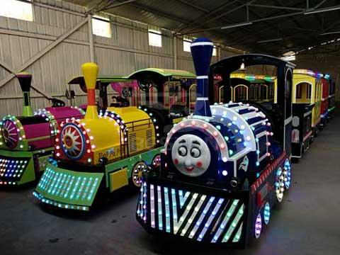 Amusement Trackless Train Rides