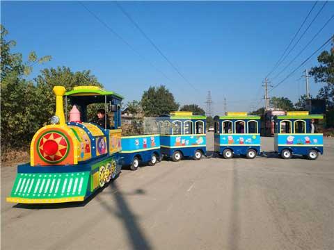 Beston Amusement Trackless Train for Australia