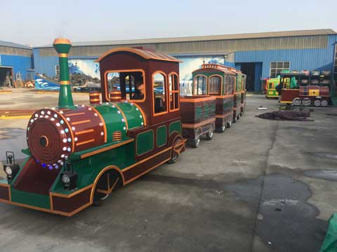 Amusement Trackless Train from Beston